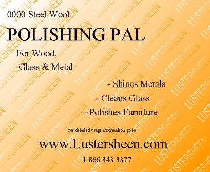 Chose the Grade Lustersheen 8 Pad Pack Bronze Wool ~ Purchase 1 or more s